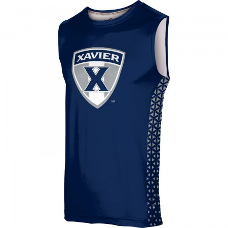 ProSphere Men's Xavier University Geometric Sleeveless Tech Tee