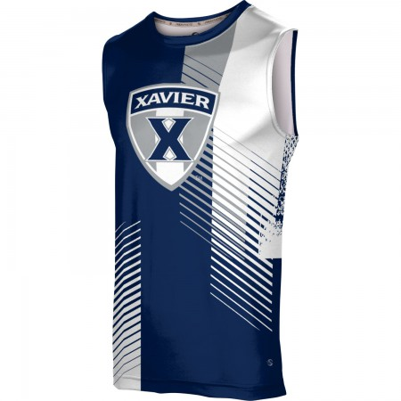 ProSphere Men's Xavier University Hustle Sleeveless Tech Tee