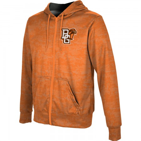 ProSphere Men's Bowling Green State University Digital Fullzip Hoodie