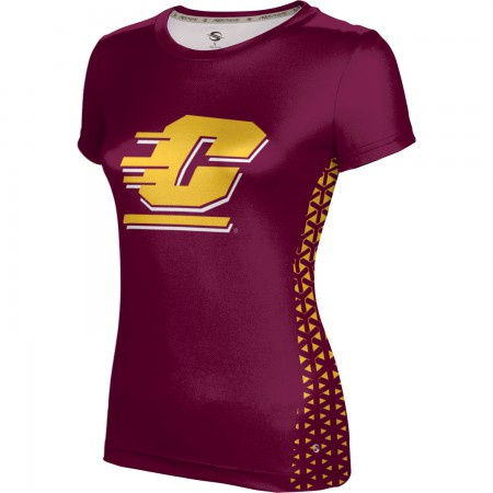 ProSphere Women's Central Michigan University Geometric Tech Tee