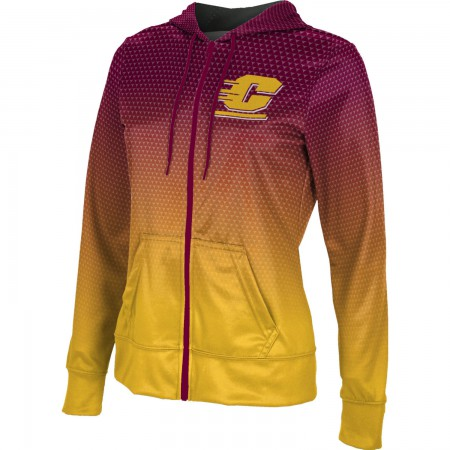ProSphere Women's Central Michigan University Zoom Fullzip Hoodie