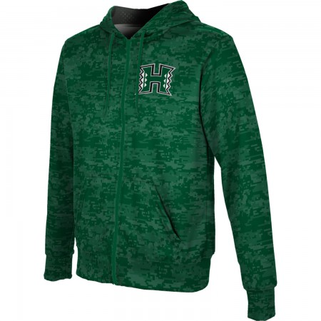 ProSphere Men's University of Hawaii Digital Fullzip Hoodie