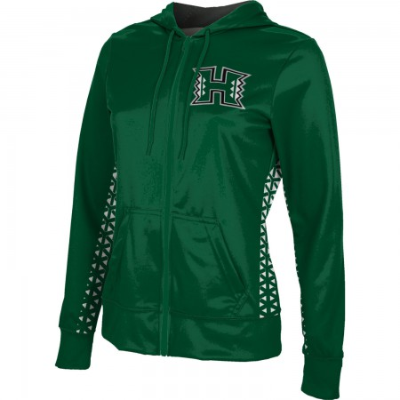 ProSphere Women's University of Hawaii Geometric Fullzip Hoodie