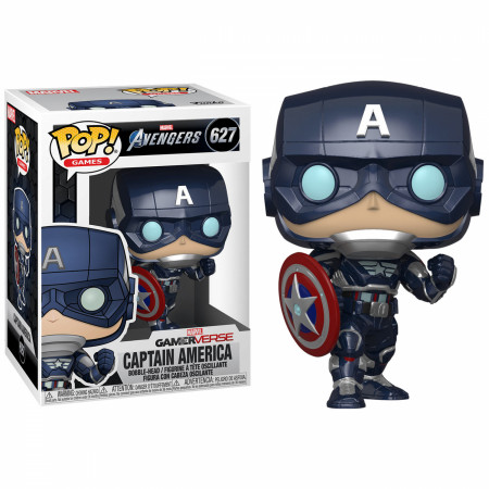 Marvel: Avengers Game Captain America (Stark Tech Suit) Funko Pop!