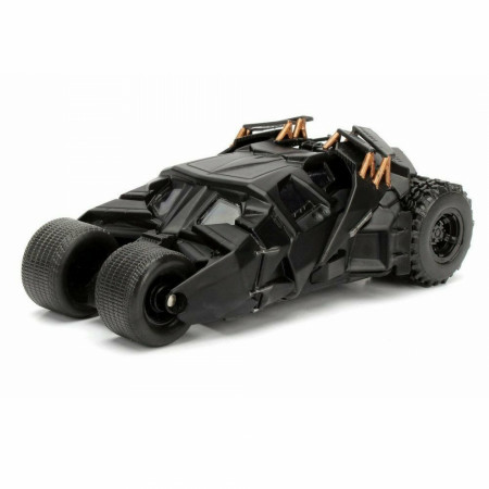 "Batman 2008 Classic Batmobile Diecast Metal 5"" Movie Car by Jada Toys"