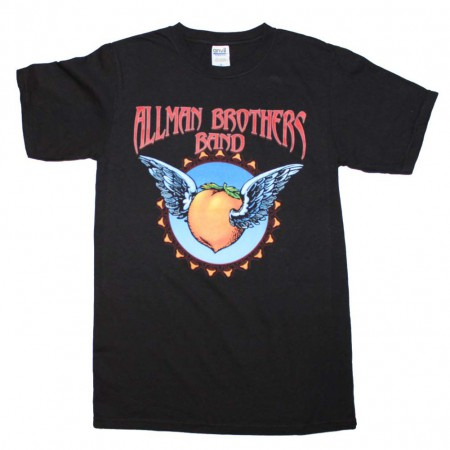 Allman Brothers Band Flying Peach T-Shirt