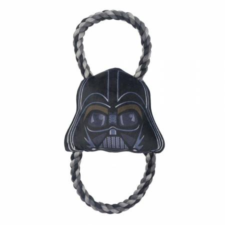 Star Wars Darth Vader Shaped Plush and Rope Dog Toy
