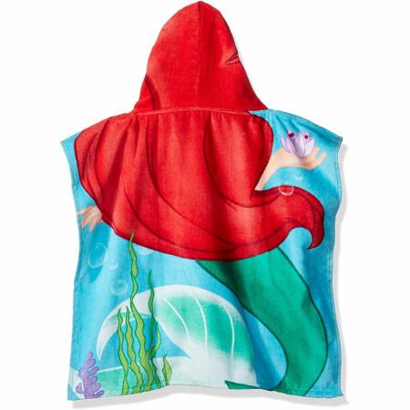 Disney Princess Little Mermaid Ariel Youth Hooded Poncho Towel