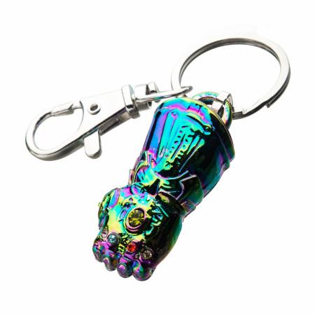 Infinity Gauntlet Rainbow Keychain