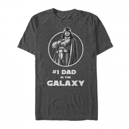 Star Wars Number One Dad Gray T-Shirt