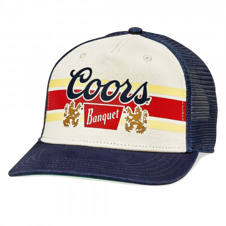 Coors Banquet Beer Sinclair Style Trucker Hat