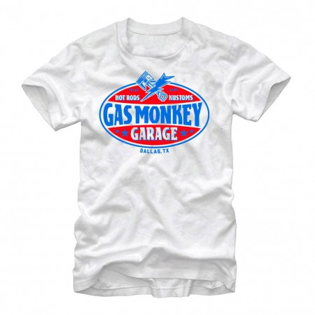 Gas Monkey Garage Gasser White T-Shirt