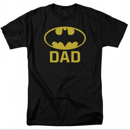 Bat Dad Batman Men's T-Shirt