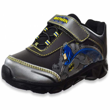 Batman Lighted Toddler Athletic Shoes