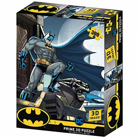 DC Comics Batman Standing on a Gargoyle Image 300pc Puzzle