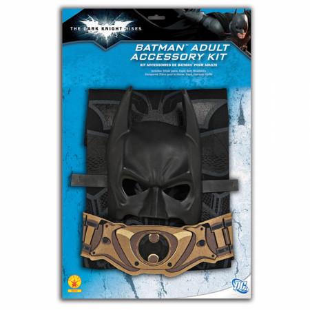 Batman Dark Knight Rises Adult Costume 4-Piece Set