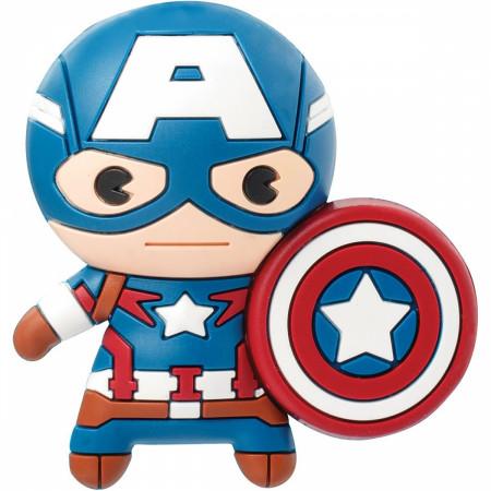 Avengers Captain America Chibi Character 3D Foam Magnet