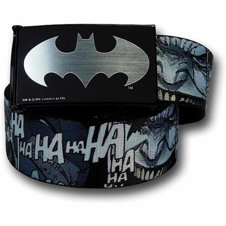 Joker Dark Knight Returns Laugh Kids Youth Web Belt