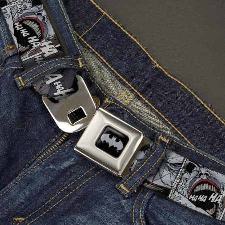 Joker Dark Knight Returns Laugh Kids Web Belt