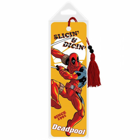 Deadpool Slicin' & Dicin' 30th Anniversary Premier Bookmark