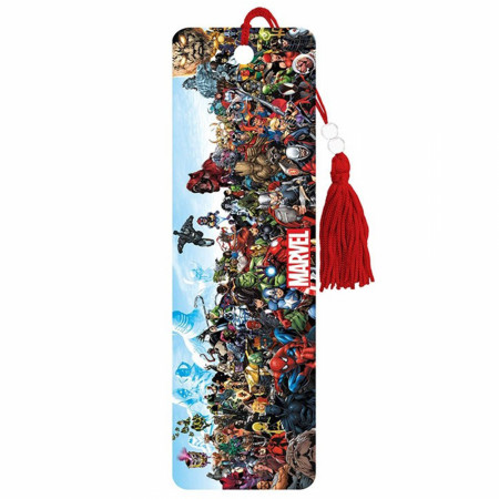 Marvel Universe Characters Lineup Bookmark