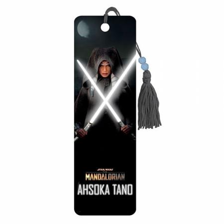 Star Wars The Mandalorian Ahsoka Tano Lightsabers Bookmark