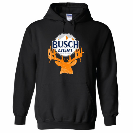 Busch Light Deer Horns Hunter Logo Hoodie