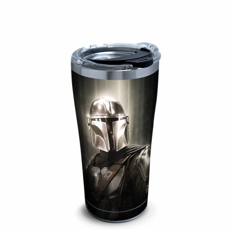 Star Wars The Mandalorian Chrome 20 Ounce Stainless Steel Travel Mug
