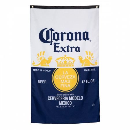 Corona Bottle Label Flag
