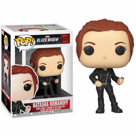 Marvel: Black Widow Movie Natasha Romanova Street Clothes Funko Pop!