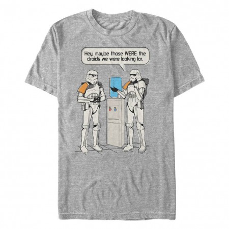 Star Wars Watercooler Gray T-Shirt