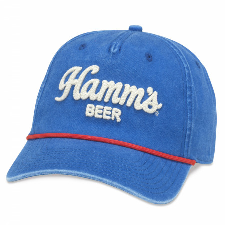 Hamm's Embroidered Logo Blue Hat