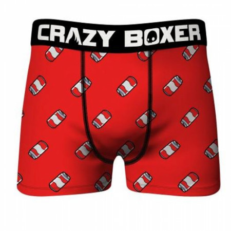Crazy Boxers Beer Cans All Over Men's Boxer Briefs