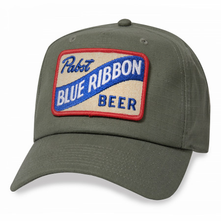 Pabst Blue Ribbon Beer Surplus Style Hat