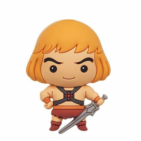 He-Man Masters of the Universe Chibi Character 3D Foam Magnet