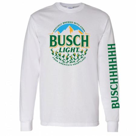 Busch Light Proudly Brewed With Corn Long Sleeve Shirt