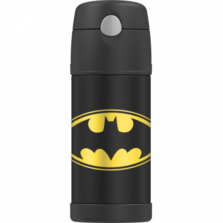 Batman Logo 12 Ounce Thermos Bottle