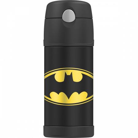 Batman Logo 12 Ounce Thermos Bottle