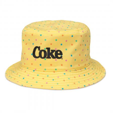 Coca-Cola Stars Bucket Hat