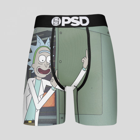 Rick and Morty Flip Off Men's Boxer Briefs