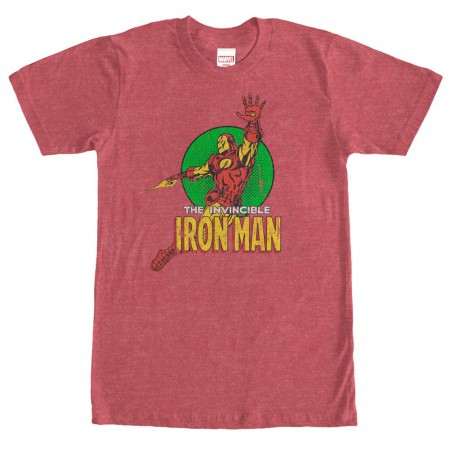 Iron Man Floater Red Mens T-Shirt