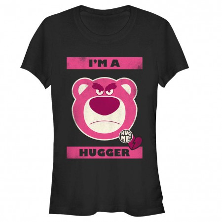 Disney Pixar Toy Story 1-3 Hugger Black T-Shirt