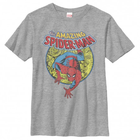 Spider-Man Urban Hero Gray Youth T-Shirt