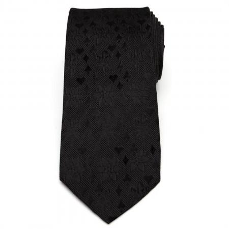 Joker Suits Silk Neck Tie