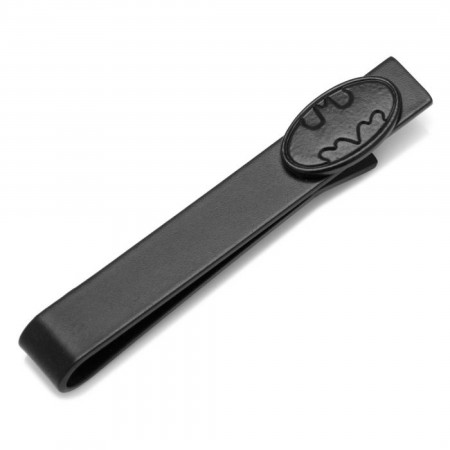 Batman Black Oval Tie Bar