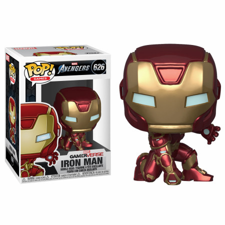Marvel: Avengers Game Iron Man (Stark Tech Suit) Funko Pop!