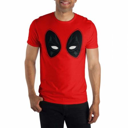 Deadpool Eyes Red Costume T-Shirt