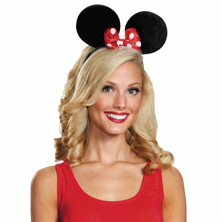 Disney Minnie Mouse Deluxe Ears & Bow Headband