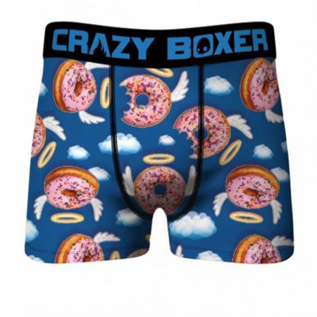 Crazy Boxers Donut Angels All Over Men's Boxer Briefs
