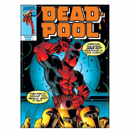 Deadpool Comic Cover #26 Dance Party Magnet